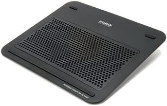 Zalman NC1500-B Laptop Cooling Pad with Pure Aluminum Panel (NC1500-B)
