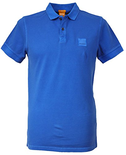 BOSS Hugo Polo - Homme Bleu Bleu Medium - Bleu - Large