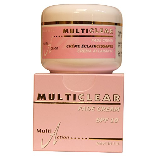 Fade Cream - Crema Aclaradora MULTICLEAR - 100ML. Crema Antimanchas.Con Ácido Kojico y Protección Solar