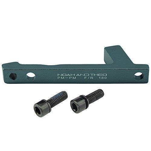 aleación de aluminio 6061 FRENO DISCO Adaptador DELANTERO 180mm montaje en poste...