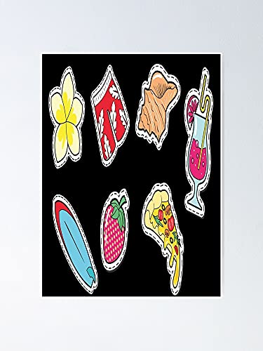 AZSTEEL Find Me at The Beach Pack Poster Best Gift for Mothers Day