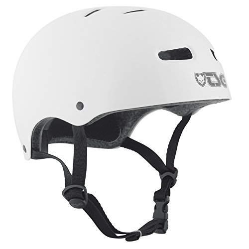 TSG Helm Skate BMX Colors Halbschalenhelm, injected white, L/XL