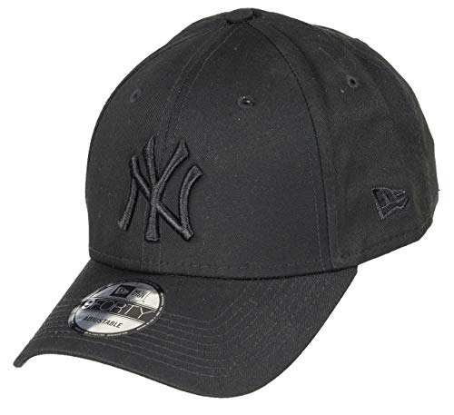 New Era 9Forty Snapback Cap NY Yankees Schwarz Black on Black, Size:ONE Size