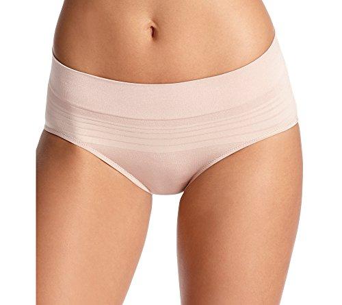 Warner's Women's No Pinching No Problem Seamless Hipster Panty, Toasted Almond, Medium