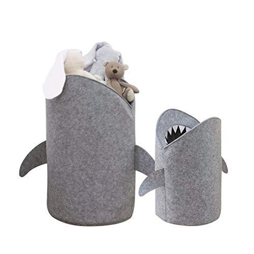ZNQPLF 1pc Toy Toy Storage Cesta Multifuncional Premium Fieltro de la lavandería para Juguetes y Ropa #, (Size : Large)