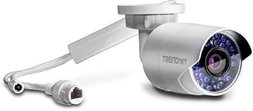 TRENDnet TV-IP322WI Telecamera di Rete IR Wi-Fi HD 1,3 MP da Esterno, IP66, Antivandalo, Visione Notturna IR 30 m, 1, PoE, 960p, 802.11N, Wi-Fi N