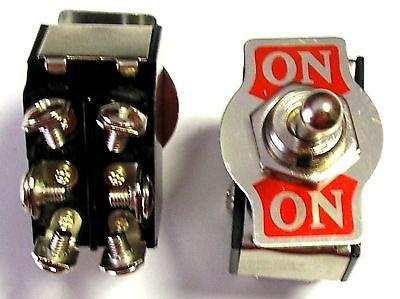 Interruptor desviador bipolar de palanca alta carga
