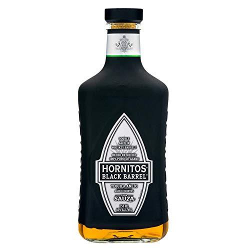 Tequila Hornitos Black Barrel marca Sauza