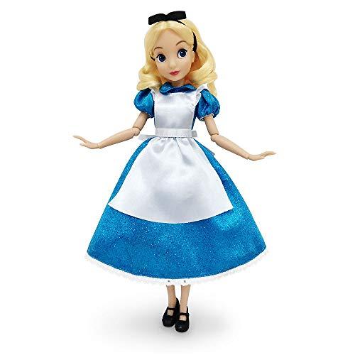 Disney Alice Classic Doll – Alicia en el país de las maravillas – 11 ½ pulgadas