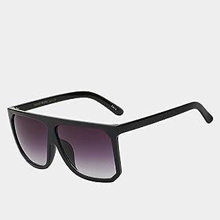 ac48b8df30 TIANLIANG04 Las Mujeres de Bastidor Grande con Parte Superior Plana de Gafas  Gafas de Sol Vintage