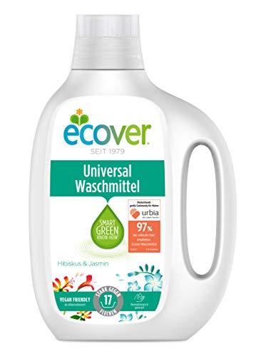 Ecover Universal Waschmittel Konzentrat Hibiskus & Jasmin(1 x 850 ml)