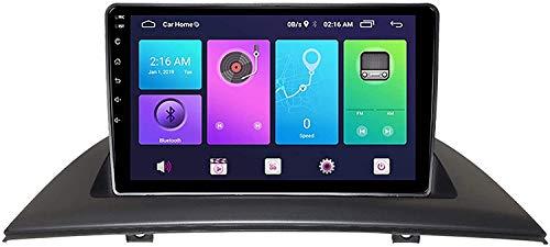 Adecuado para BMW X3 E83 Android Big Screen Navigation, adecuado para BMW X3 E83 Android Big Screen Navigation, 9 pulgadas pantalla táctil estéreo TV, función manos libres S3.S4, S4