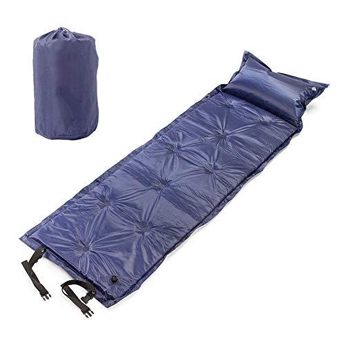 Colchón de aire inflable del automóvil, cama de colchón de viaje inflable de aire, asiento trasero inflable Cojín de cama de ladair, para asiento trasero universal Sofá multifuncional almohada Al aire