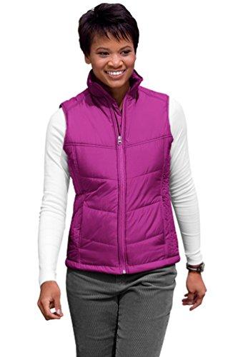 Port Authority Ladies Puffy VestXXL Bright Berry/Bermuda Purple L709