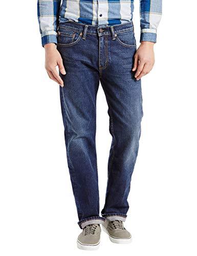 Pantalones Levi's 505® Regular Fit vaqueros con ligero lavado a la piedra Azul Hawker - Stretch