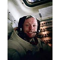 ポスター アルドリンNASA宇宙飛行士ニールアームストロングアポロ11飛行写真 A3サイズ [インテリア 壁紙用] 絵画 アート 壁紙ポスター