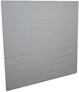 grey slatwall