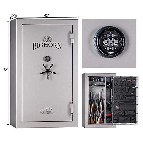 Bighorn Expect More High Gloss 47.3 CuFt Gun Safe, 120 Minute Fire Rating