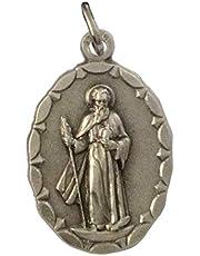 Medalla Oval de San Judas Tadeo Apóstol - Patrón De Los Casos Imposibles