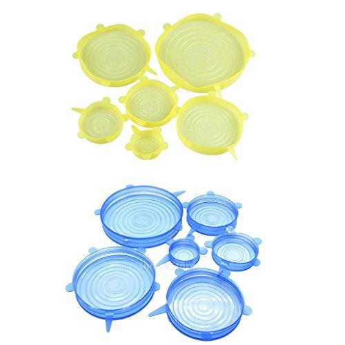 Sharplace Couvertures Alimentaire Stockage Bol Couverture Alimentaire Protection de Repas Couvercle de Four