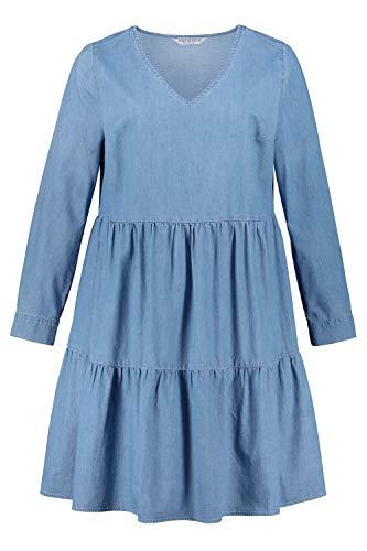 Studio Untold Duże rozmiary sukienka damska sukienka dżinsowa