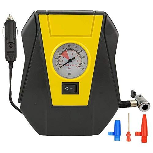 Lopbinte Inflador de neumáticos Compresor de aire del coche Bomba eléctrica Auto portátil 12V Volt 100 Psi