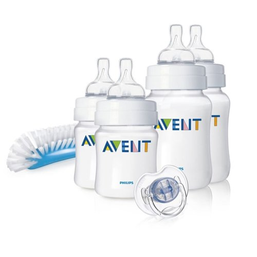 Philips Avent SCD271/00 - Juego de biberones y accesorios básicos para recién...