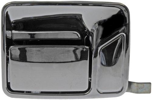 Rear Passenger Side Exterior Door Handle for Select Ford Models, Chrome (OE FIX) - Dorman 91100