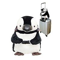 ぺんぎん キャリーオンバッグ 旅行バック 可愛い バック PlayBag プティルウ製 ペンギン