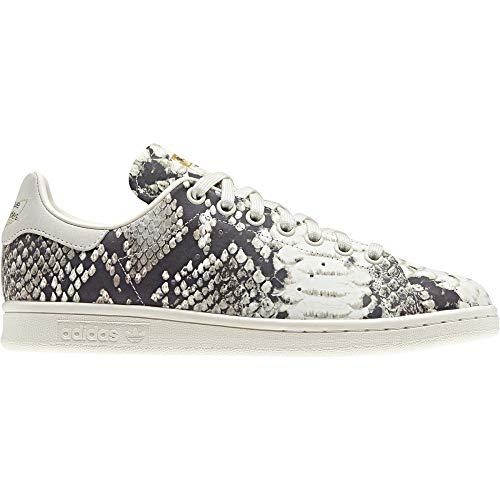 Adidas Stan Smith W, Zapatillas de Deporte para Mujer, Multicolor (Supcol/Casbla/Negbás 000), 36 1/3 EU