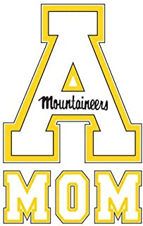 Appalachian State Mom Decal 'App State A'
