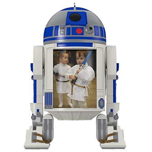 Hallmark Keepsake Christmas Ornament 2020, Star Wars R2-D2 The Force Is With Us Photo Frame