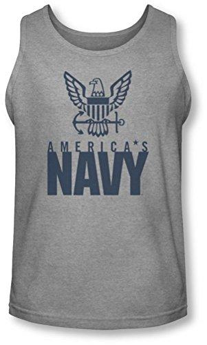 Navy - - Aigle Logo pour Homme Débardeur, Medium, Athletic Heather