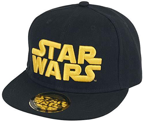 Casquette Noire Golden Logo Star Wars