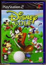 DISNEY GOLF PS2