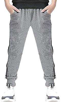 EULLA Sweatpants for Boys Youth Casual Clothing Cotton Jogging Pants 4-12T