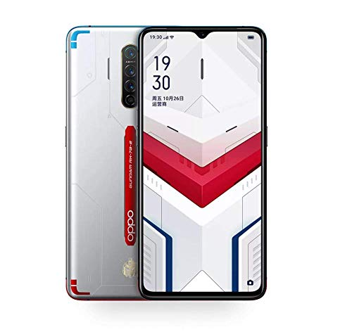 Original Oppo Reno Ace 4G LTE Mobile Phone 8G+256GB 65W VOOC 6.5' AMOLED 90HZ Screen Snapdragon 855 Plus 48.0MP OTG NFC Cellphone Support Google by-(Real Star Technology) (Gundam Version 8+256GB)
