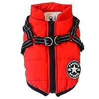 JPETTOOペット服 冬 犬 ジャケット ペット コート ドッグウエア パーカー 小中型犬 保温 防寒 お散歩お出かけ