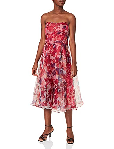 Vera Mont Abendkleid Cream/Red, 36 Damen