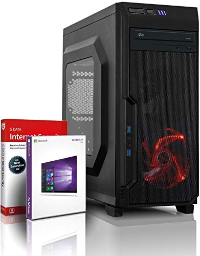 Intel Core i7 Monster Gamer mit 3 Jahren Garantie! | Intel i7 3770, 8 Threads, 3.9 GHz | 16GB | 512GB SSD | Geforce GTX 1650 4 GB DDR5 | USB 3.0 | DVD±RW | WLAN | Win10 | MS Office | #6383