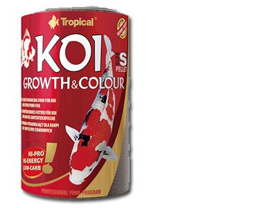 TROPICAL Koi Growth and Colour Pellet Taille S, 1 Pack (1 x 10 l)