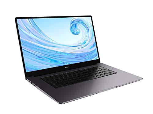 Huawei Matebook D15 - Ordenador Portátil de 15.6'' FullHD (AMD Ryzen 5 3500u, Multi-Screen Collaboration, 8GB RAM, 256GB SSD. Windows 10 Home), Mystic Silver, [QWERTY International Keyboard]