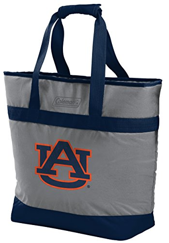 NCAA 30 Can Soft Sided Tote Cooler, Auburn Tigers