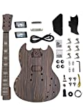 DIY Electric Guitar Kits for sg Guitar Solid Body Build your own guitar