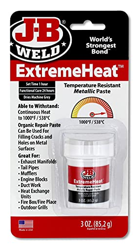 J-B Weld 37901 Extreme Heat High Temperature Resistant Metallic Paste (3)