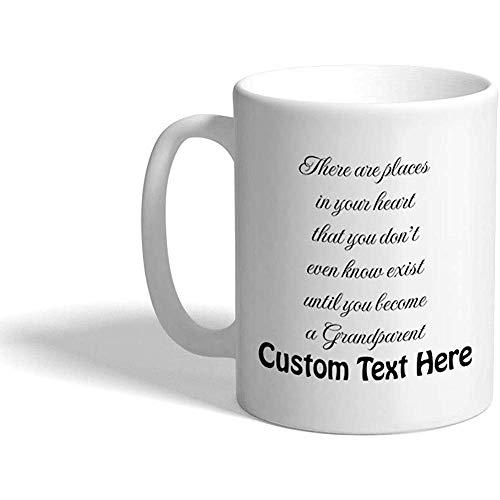 Gewohnheit Kaffeetasse 330 ml Familien-Freund-Großeltern-keramische Tee-Schale personalisierter Text