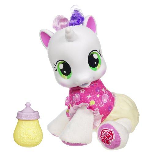 My little Pony / MEIN KLEINES Pony - Sweetie Belle / Plüschtier - englisch sprechend - ca. 19 x13 cm-Hasbro