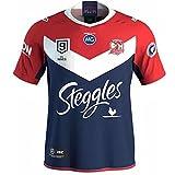 YAQA 2020 Australia Sydney Rooster Nines Rugby Jersey, Camiseta De Fútbol Profesional De Nueve Jugadores, Polo Cómodo Y Transpirable para Los Aficionados Nine-a-Side-M