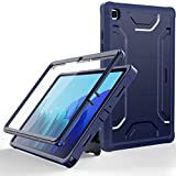 Supveco Case for Samsung Galaxy Tab A7 10.4 2020, Dual Layer Full Body Protection Cases for Samsung A7 Tablet with Built-in Screen Protector Cover for Galaxy Tab A7 10.4 [SM-T500/T505/T507]-Dark Blue