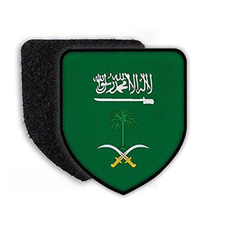 Copytec Patch Landeswappenpatch Saudi Arabien Riad Fahne Flagge Araisch Messer Land Islam Emblem Arabisch König #21965